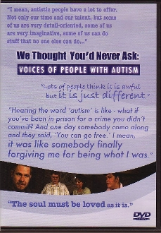 We Thought You'd Never Ask: Voices of People with Autism
